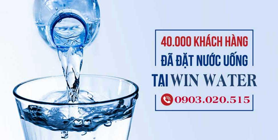 hơn 40000 khách hàng đã tin chọn sử dụng nước uống tại WinWater.vn