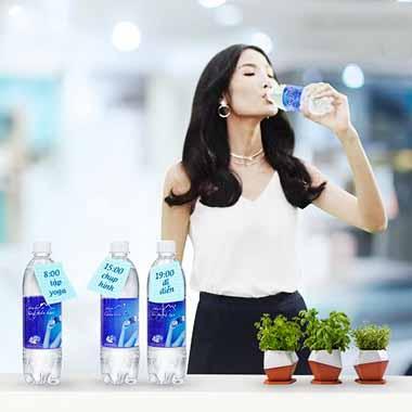 Nước uống Aquafina hương vị nước tinh khiết, ngọt tự nhiên, dễ uống