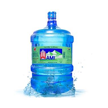 Bìnhnước uống tinh khiết Wami20L