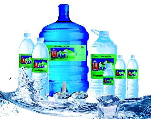 Nước uống tinh khiết Wami đa dạng loại,sản phẩm an toàn, tốt cho sức khỏe của người dùng