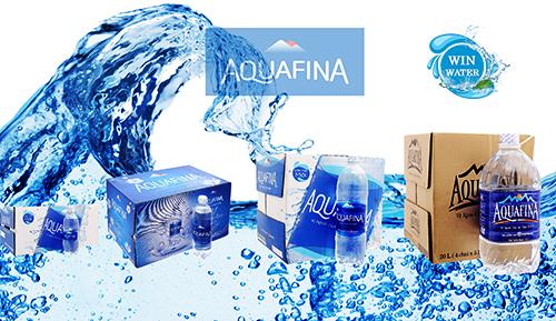Hiện nay Aquafina chỉ cung cấp nước uống đóng chai355ml, 500ml, 1.5L, Chai to nhất là 5 lít