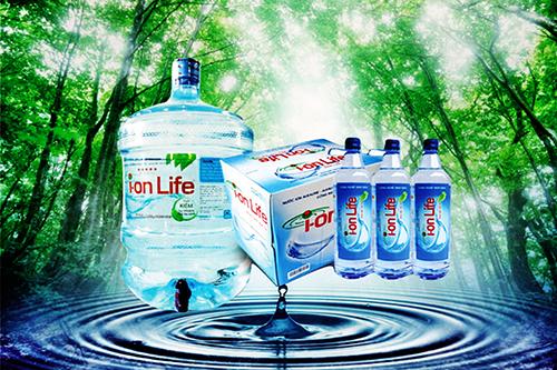 Nước Ion Life đóng chai đóng bình là sản phẩm nước uống rất tốt cho sức khỏe của người tiêu dùng