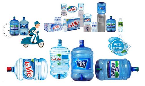 Nước uống đóng chai, đóng bình được bán ra trên thị trường đều được niêm yết giá