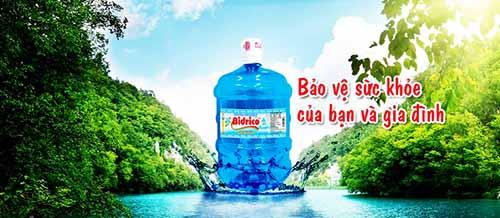 Nước Bidricobình 20L, nước uống tinh khiết tốt cho sức khỏe mọi nhà