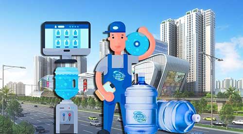 WinWater.vn cung cấp dịch vụ giao nướcuống tận nơi phục vụ tận phòng tất cảcư dânChung Cư Masteri Thảo Điền