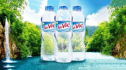 Nước khoáng Lavie 500mlđược bán tại WinWater có giá 98.000vnđ/Thùng 24 chai