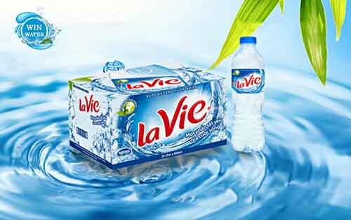 Nước khoáng LaVie 500mlthùng 24 chai tiện gọn