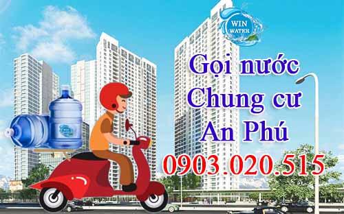 WinWater.vn giao nước siêu nhanh tận phòng cho cư dân chung cư Masteri An Phú