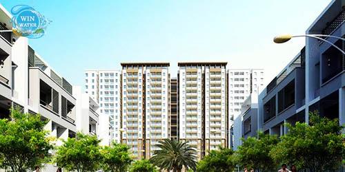 Từ Parkland Apartmentscó thể xem bao quát cảnh vật ở quanh và trọn vẹn các tiện nghi