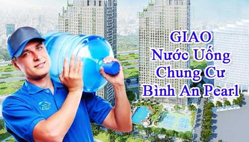 WinWater.vn giao nước uống sạch siêu nhanh tới khách hàng tạiChung cưBình An Pearl