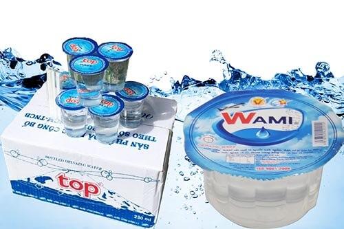 Mua Nước uống đóng ly Wami, Top, BMS giá rẻ quận 2