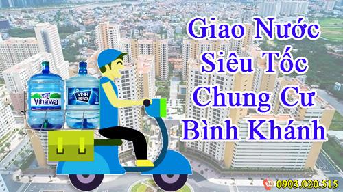 WinWater.vn giao nước siêu nhanh tận phòng cho cư dân chung cư Bình Khánh