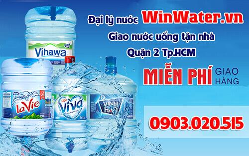 Dịch vụ giao nước tận nhà của WinWaternhanh chóng – đảm bảo chất lượng