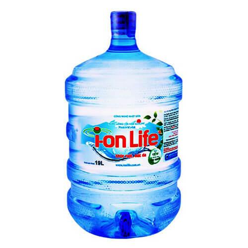 Bình nước uống Ion Life 19L có vòi