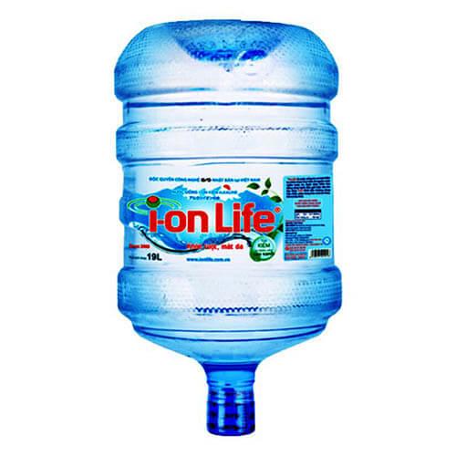 Nước uống Ion Life bình úp 19L