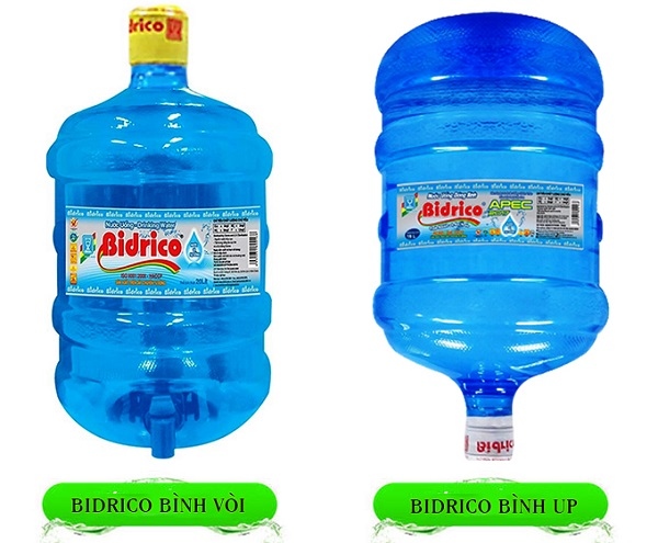 Nước BIDRICO bình vòi và bình up giá rẻ, giao nhanh quận 2
