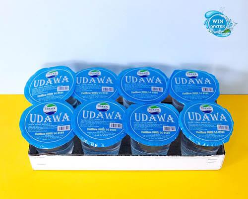 Nước uống UDAWA 220ML lốc 8 Ly