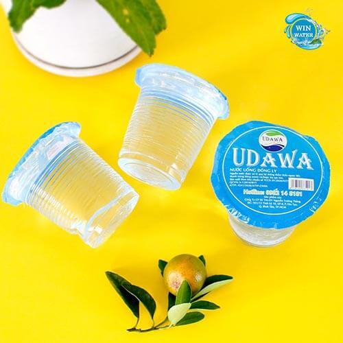 Nước đóng ly UDAWA sự lựa chọn tối ưu cho mọi nhà