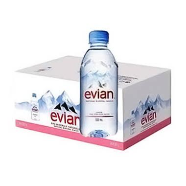 Nước khoáng Evian thùng 24 chai dung tích 350 ml