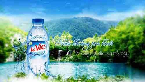 Người sử dụng sẽ luônhài lòng về chất lượng cũng như giá cả của nước khoángLavie