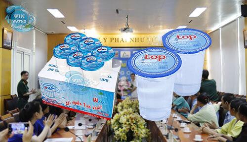 Nước uống đóng ly Wami, Top, BMS là sản phẩm nước uống chuyên biệt, chuyên phục vụ rất tốt cho các buổi tiệc