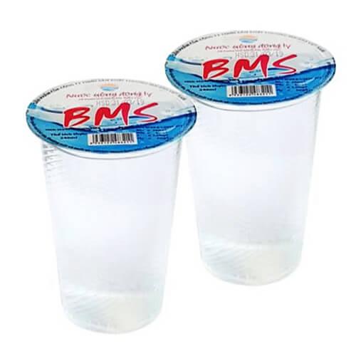 Sản phẩm nước suối ly BMS 240ml