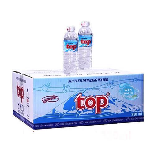 Nước uống tinh khiết Top 330ml thùng 48 chai
