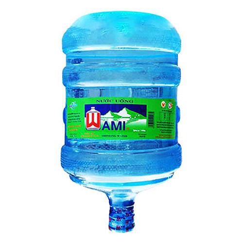 Nước tinh khiết Wami 20L bình úp