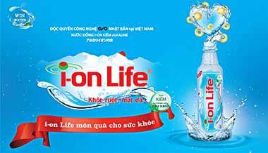 Nước Ion Life lợi ích cho sức khỏe – vẻ đẹp và trí tuệ.