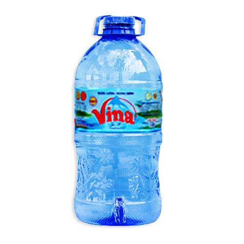 Nước tinh khiết Vina bình vòi7.5L