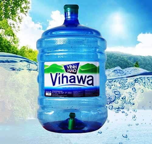 Sản phẩm nước uống Vihawa đóng bình 20L