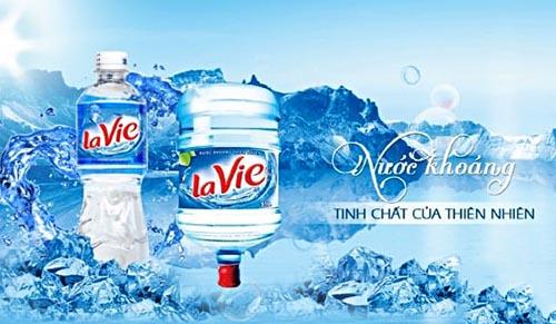 Nước khoáng LaVie - Suối nguồn của sức khỏe