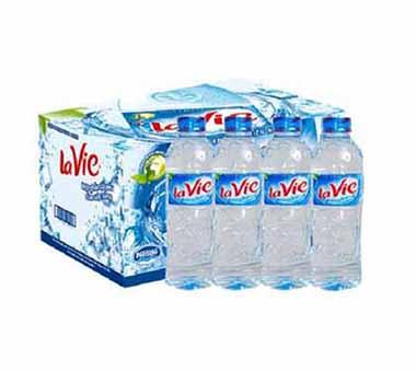 Thùng nước khoáng Lavie 350ml