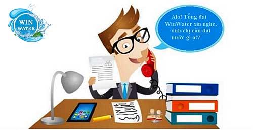 Tổng đài chăm sóc khách hàng của WinWater.vn luôn hoạt động xuyên suốt 24/7
