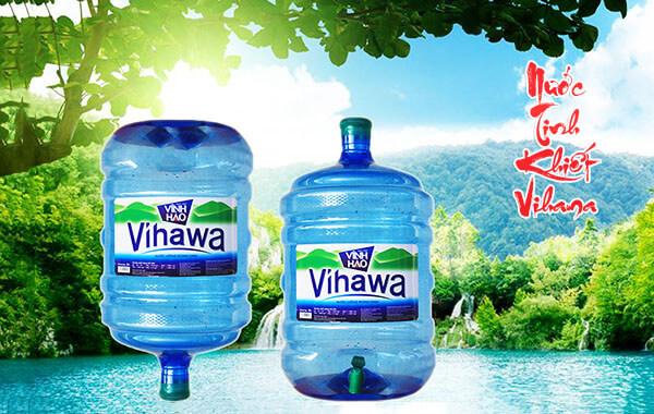 Vihawa 20 lít là sản phẩm nước tinh khiết bán chạy hàng đầu tại TPHCM
